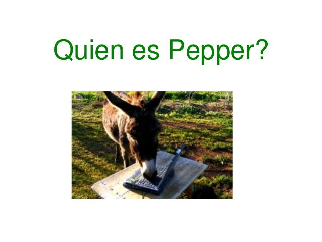 Quien es Pepper?<br />
