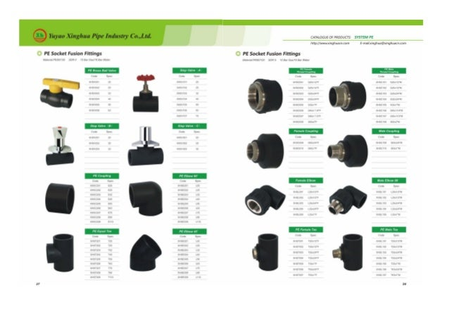 Pe and ppr catalog