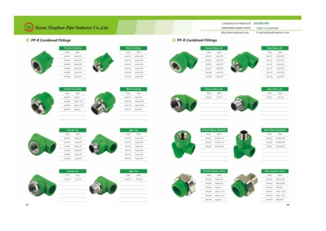 PPR FITTINGS CATALOGUE PDF DOWNLOAD