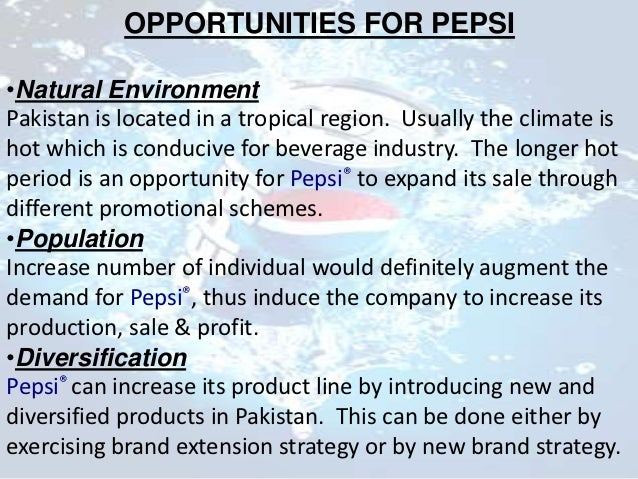 pepsi sales in pakistan Pepsi cola pakistan the market in pakistan is surely dominated by pepsi it has proven itself to be the no1 soft drink in pakistan now days pepsi is recognized as pakistanis national drink.