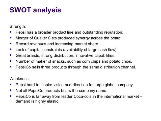 SWOT Analysis of PepsiCo (5 Key Strengths in 2018)