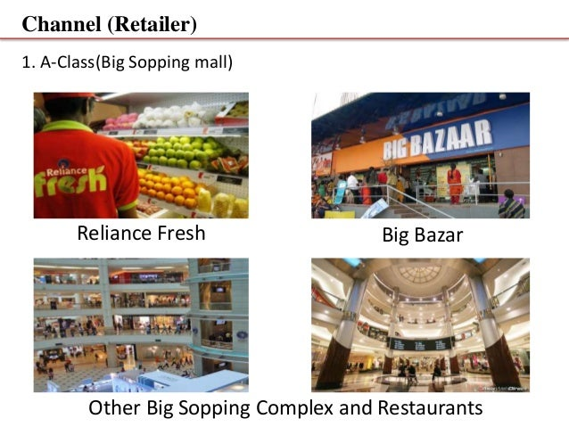 reliance fresh distribution channel Mr nilesh of prantij cc of reliance fresh was helpful in arranging  78 city- wise distribution of traditional retailers by channel-wise quantity.