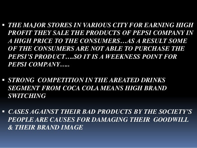 analysis of a pepsi advertisement In 1950 the pepsi cola¶s formula had been changed by reducing its sweetness and calories and a new advertising campaign refresh without filling had been launched effectively under the supervision of the diligent sales staff and the marketing experts, pepsi cola began setting new records of eminence.