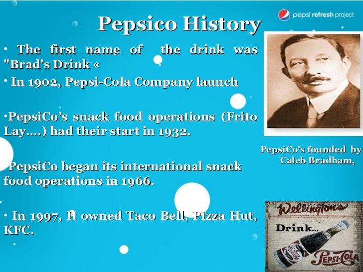 pepsi case analysis 1 what is pepsico's corporate strategy briefly identify the business strategies that pepsico is using in each of its consumer business segments in 2008.