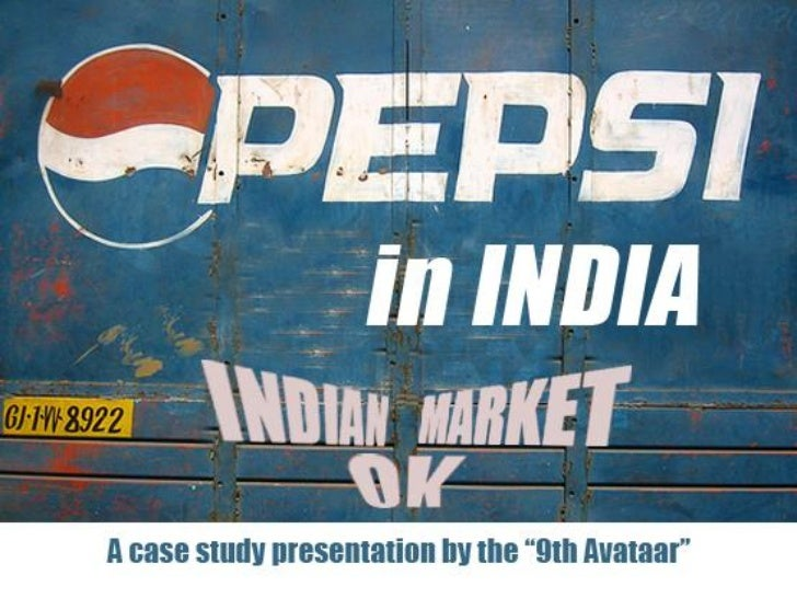coca cola and pepsi in india case study