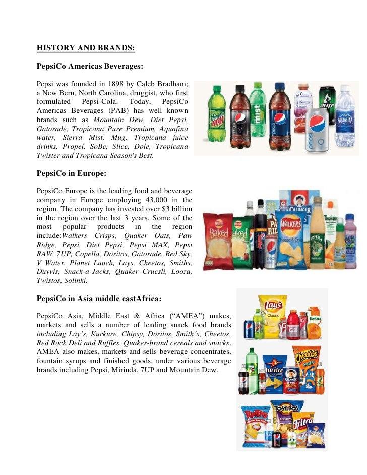 pepsico supply chain management essay