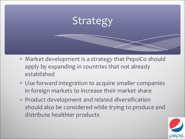 Pepsicos strategy wins market share