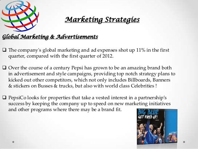 Marketing Strategy Of Pepsico