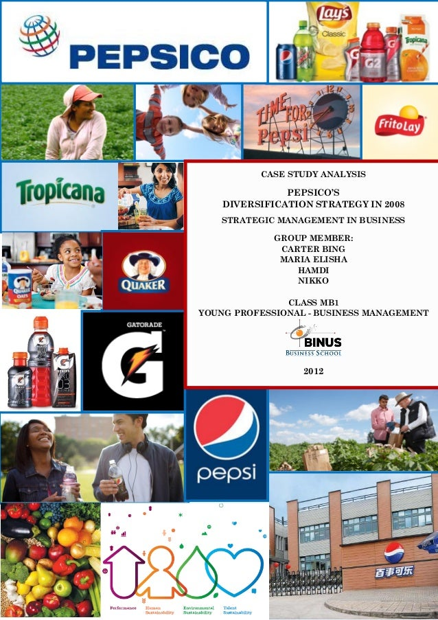 change management case study pepsi Pepsico: journey to strategic education assistance pepsico, inc recognized that the purpose of its tuition reimbursement program had to evolve it needed to be more than just one of many this case study tells the story of pepsico's transformed change management strategies, including educating the employees on.