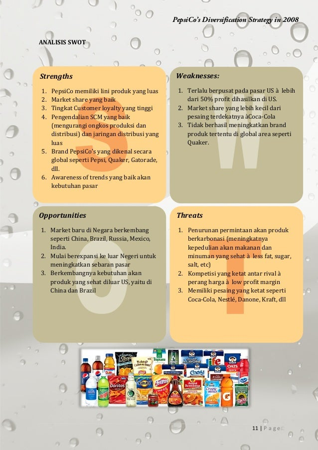 case study pepsi co assignment Pepsico 2014 presentation 1 prepared by: 1  pepsi co americas food (paf) it includes frito-lay north america, quaker all latin american food its snack .