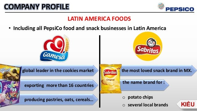 Pepsico covideo bannen ppt for American cuisine presentation