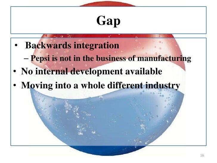 Pepsi Co. Strategy Essay