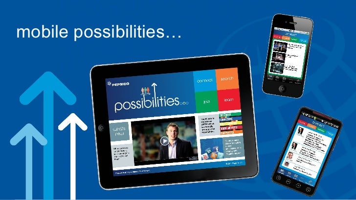 mobile possibilities…