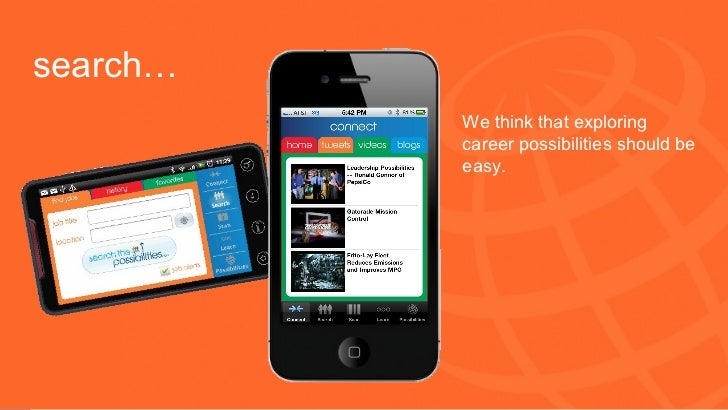 PepsiCo Careers Mobile Possibilities
