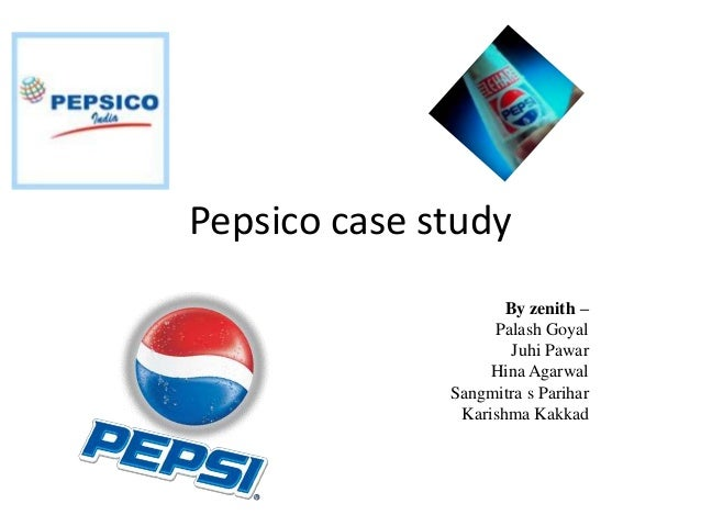pepsico s restaurants case study Pepsico sales inc urged a north carolina federal judge on thursday  50 of the  remaining 51 wendy's restaurants serving pepsi products, said in its  is based  on the false premise that pepsi breached the agreement in any of its  pepsico  sales inc, case number 3:14-cv-00668, in the us district court.