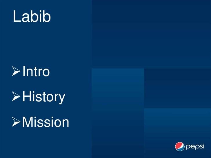 Pepsico Final project