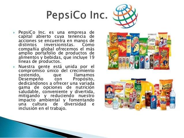 pepsico inc costo de capital Rendimiento sobre el capital contable pepsico-1431% utilización de los activos rotación de las cuentas por pepsico - 089 margen de utilidad (utilidad + ventas).