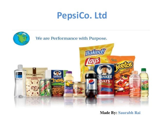 pepsico india performance with purpose Pepsico chairman and ceo believes in conscious capitalism and performance with a purpose she joined fortune executive editor stephanie mehta on stage at the most powerful women summit.