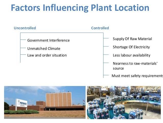 Top 8 Factors Influencing Industrial Plant Layout