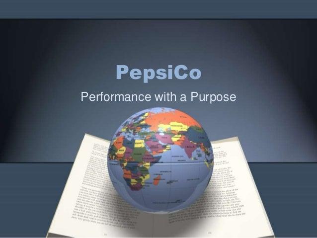 PepsiCo India: Performance with Purpose Harvard Case Solution & Analysis