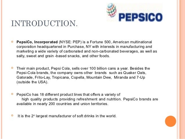Pepsi | slidegenius powerpoint design & pitch deck presentation.