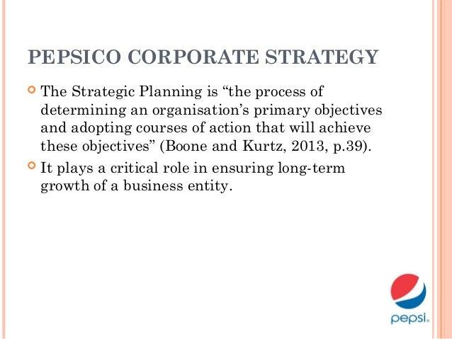 pepsi corporate strategy