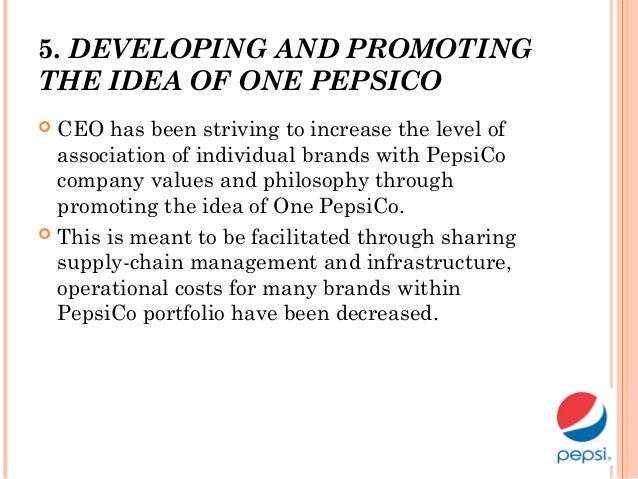 strategic pepsico Planning, implementing, and controlling marketing  strategic planning marketing strategy marketing plan •the analysis of meeting  pepsico americas beverages.