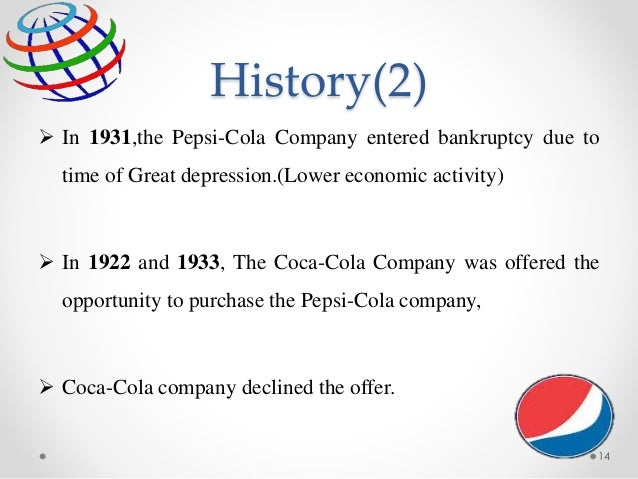 business plan pepsi cola Pepsico's organizational structure analysis in terms of business, pepsico's maintains one global division for frito-lay and another global division for.