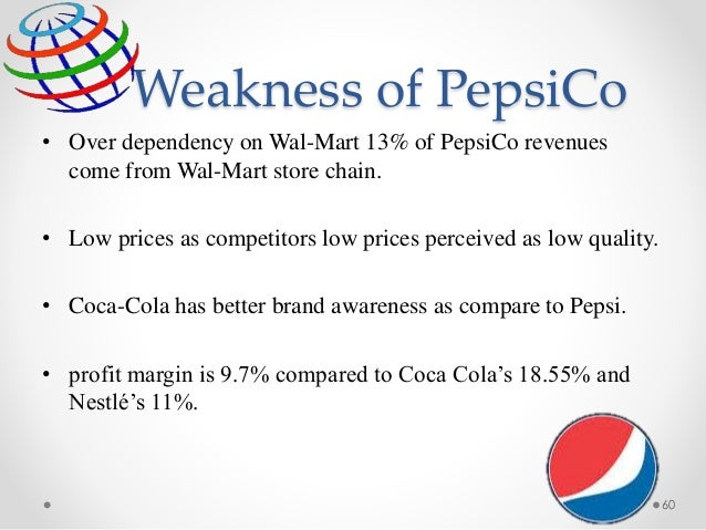 recommendations for pepsico