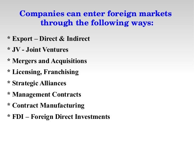 India Market