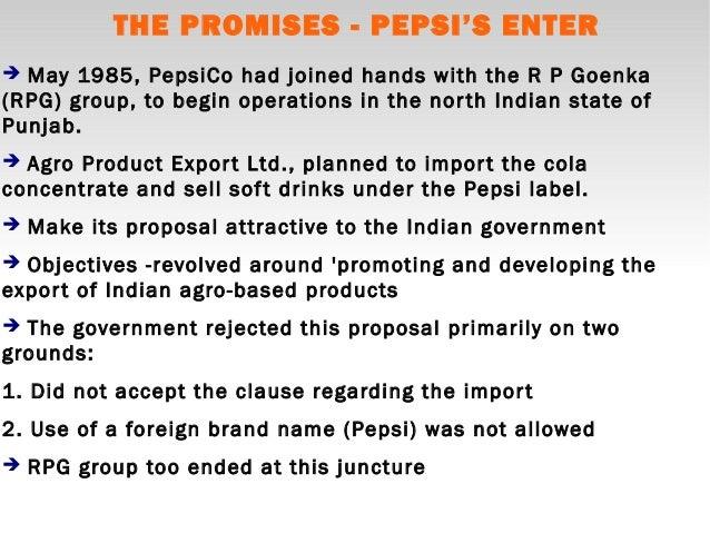 Coke pepsi race higher market pakistan