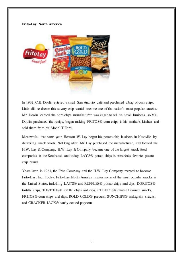 Project on pepsico