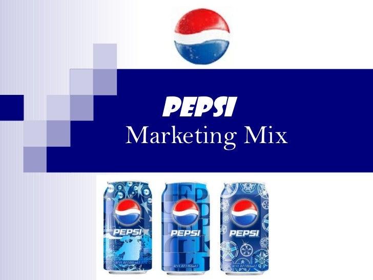 Elegant Pepsi Marketing Mix Introduction ... Great Pictures