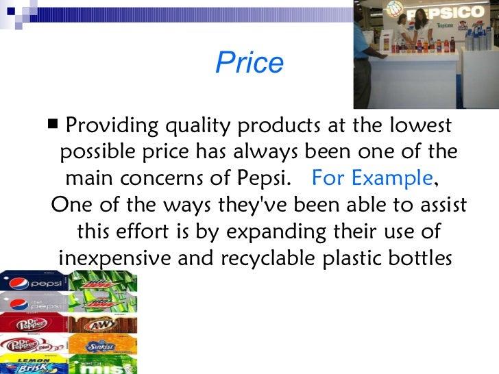 Pepsi promotional mix