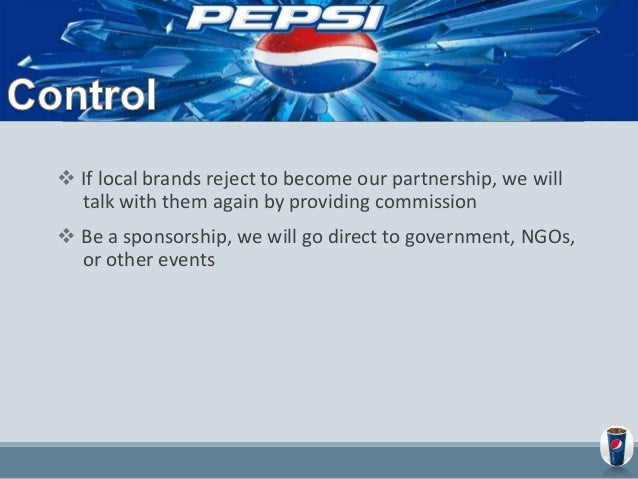 Marketing Plan of PEPSI