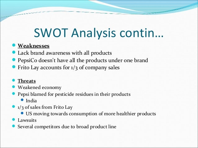 Lays SWOT Analysis, Competitors & USP