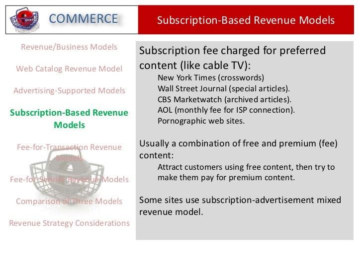 Pepsi Revenue Model