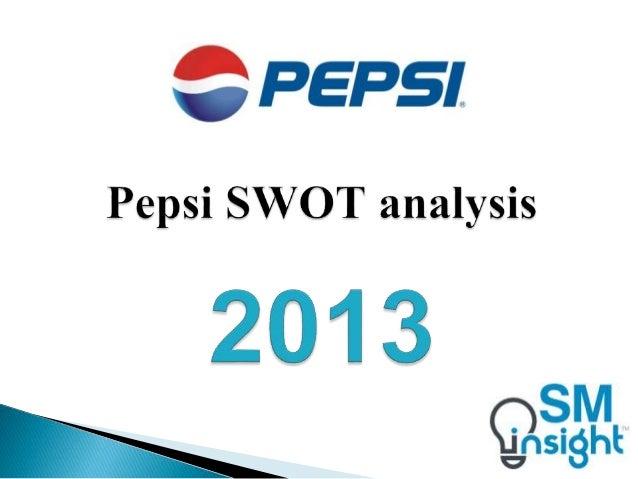 Pepsi SWOT