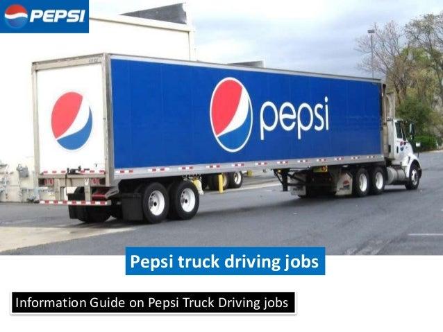 pepsi delivery driver - Ataum berglauf-verband com