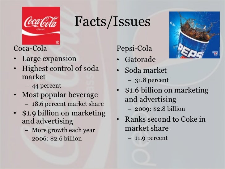 final project coca cola and pepsi co financial analysis Financial analysis project – final paper coca-cola reported very strong financial performance with pepsico is fiercely competing with coca cola.