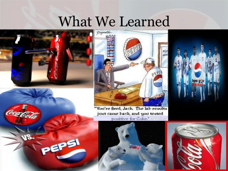 coke vs pepsi case study analysis The environmental analysis module will focus on a key aspect of  coke and  pepsi do so much advertising and promotion and they're such.