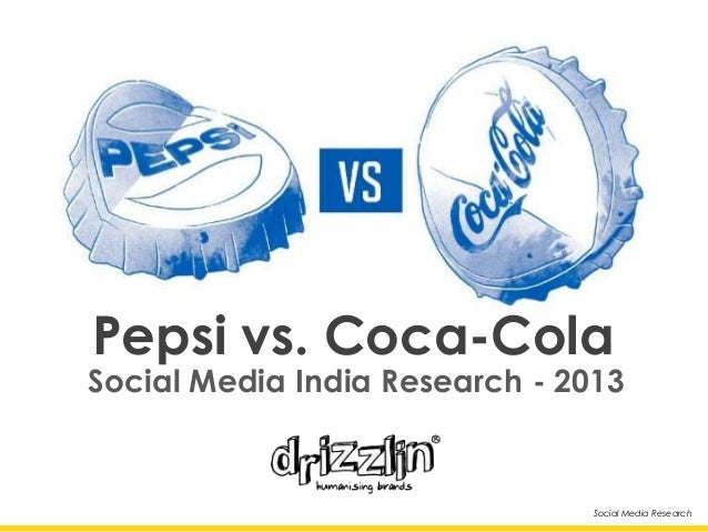 Social Media Research Social Media India Research - 2013 Pepsi vs. Coca-Cola