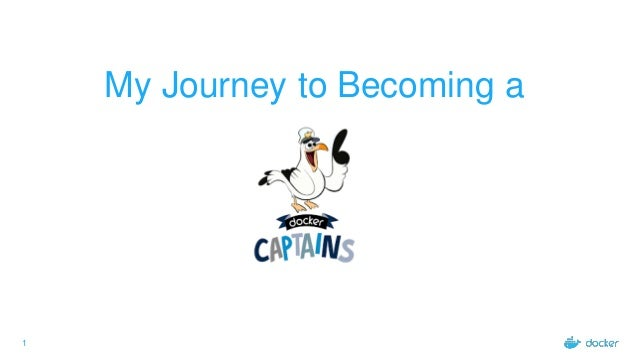 1 My Journey to Becoming a