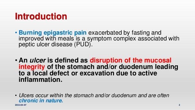 Peptic ulcer disease, upper gastrointestinal tract bleeding management Slide 2