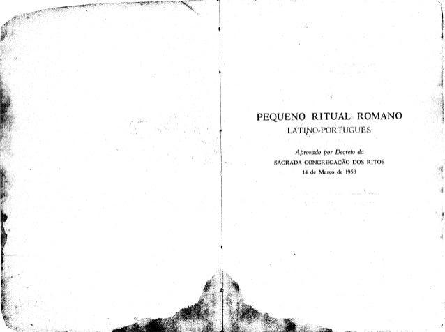 Pequeno ritual-romano-latino-portugues-1958-qrx nk2zk99a