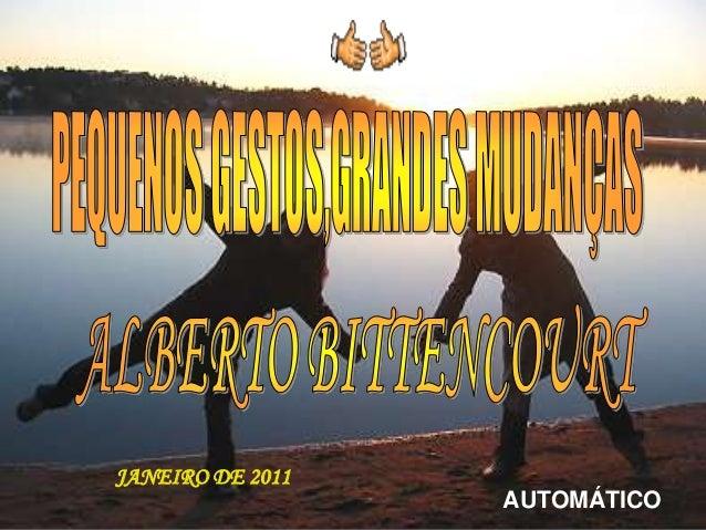 JANEIRO DE 2011                  AUTOMÁTICO