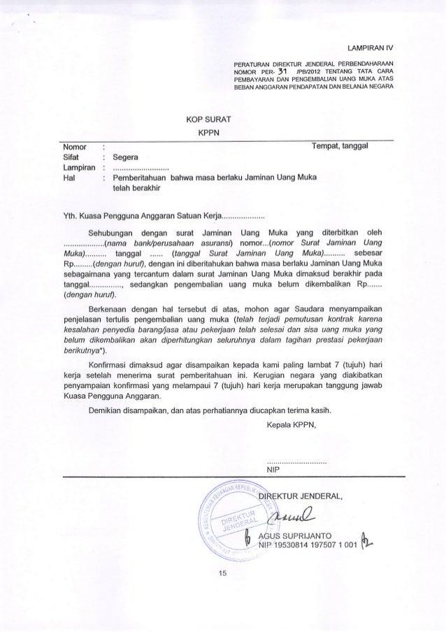 Contoh Surat Pernyataan Pengembalian Uang - Contoh Wum