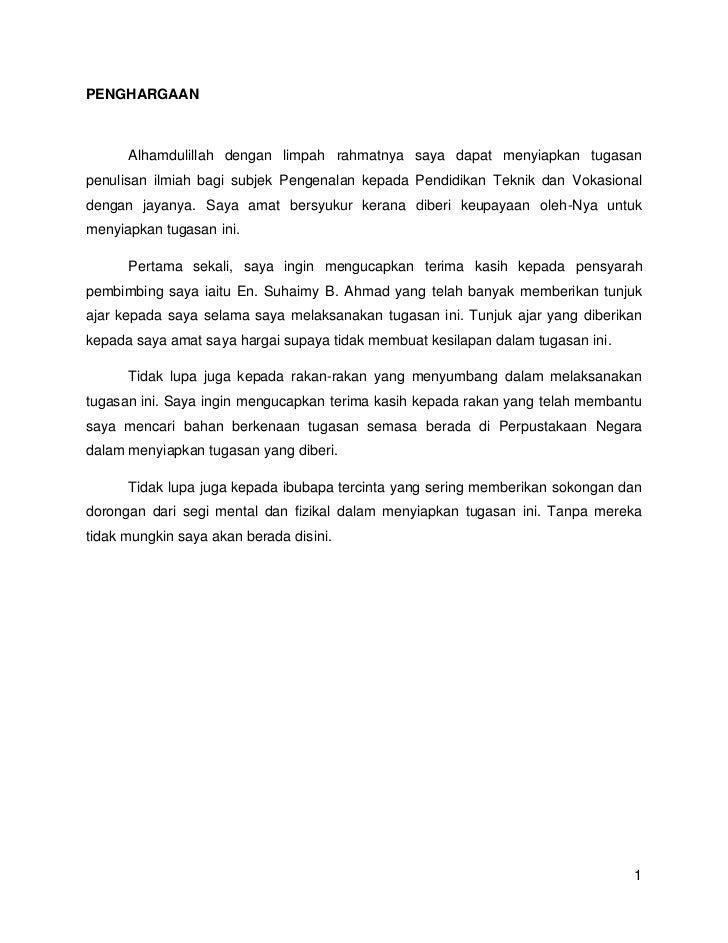 PENGHARGAAN<br />Alhamdulillah dengan limpah rahmatnya saya dapat menyiapkan tugasan penulisan ilmiah bagi subjek Pengenal...