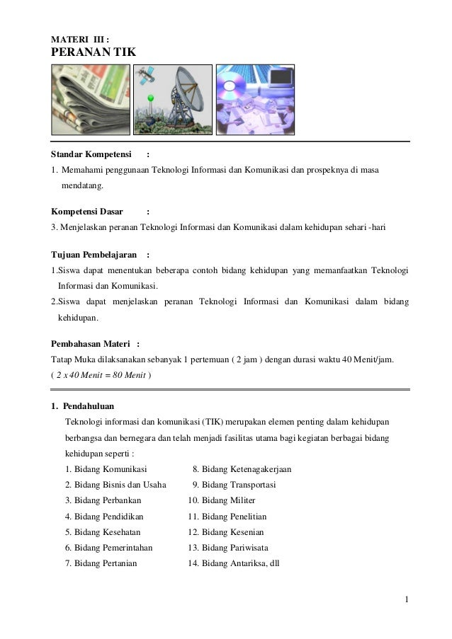 Materi Tentang Teknologi Informasi Dan Komunikasi Guru Ilmu Sosial