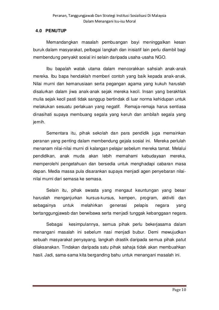 gejala pembuangan bayi essay English essays perkongsian ilmu tentang aku friday, april 19, 2013 pembuangan bayi  oleh itu, gejala pembuangan bayi harus dihapuskan hingga ke akar umbinya agar malaysia bebas.